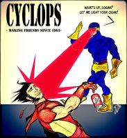 Cyclops. Making friends since 1963 by rubioric