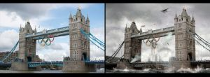 Future London - Before and After by bladz56
