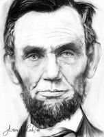Abraham Lincoln by ArturoJMorales
