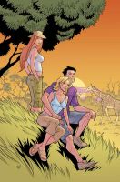 Invincible cover to 31 by RyanOttley