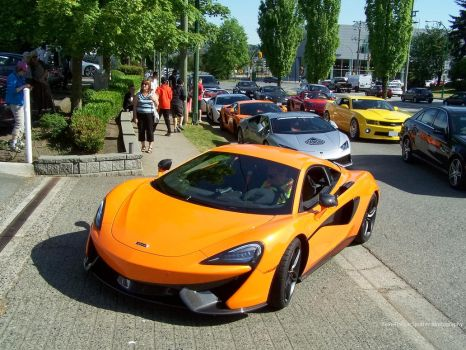 570S And Friends by SeanTheCarSpotter