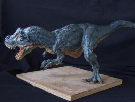 T-Rex sculpt in super sculpey by revenant-99