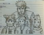 Team 10 (Naruto) by LP4eva