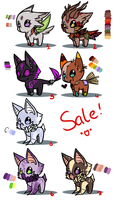 Adoption Batch 2 (!!!Sale!!!) - close - 50 points! by thesellers