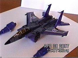 Classic Duskwing, Jet Mode by DragonessEclectic