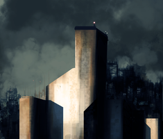 Darkened City by TDSpiral