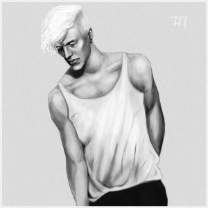 another random blonde guy by CocaineJia