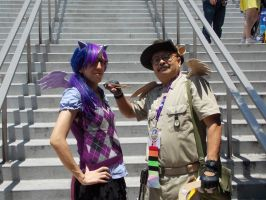 Twily and Daring Do (COSPLAY) by AniRichie-Art