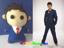 BBC Doctor Who Plushes: Tenth Doctor by AkaKiiroMidoriAoi