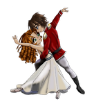 Clara and Nutcracker Prince by LicieOIC