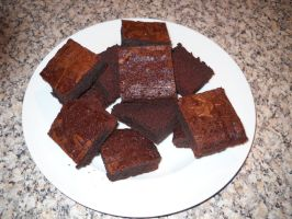 New Years Brownies by Bisected8
