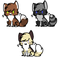 FREE Cat Adopts :CLOSED: by blackyball22