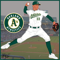 Oakland Athletics 2010 by JayJaxon