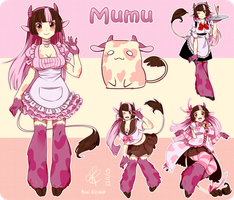 Commission: Mumu's by KiwiBlanco