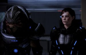 Shepard and Grunt by GothicGamerXIV