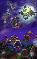 18 Years: a Crash Bandicoot Tribute by ValhallaBound