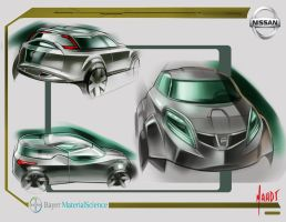 Nissan Mid-Size SUV concept 2 by sk8nrail