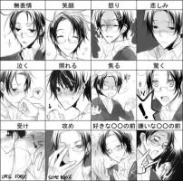Roderich's various emo. by mixed-blessing