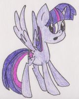 Alicorn Twilight by chocoqueen112