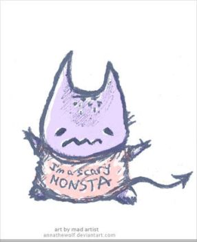 Terribly Scary Monsta by AnnatheWolf