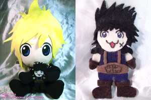 Cloud Plush Zack Replacement by Ziggy-Pasta