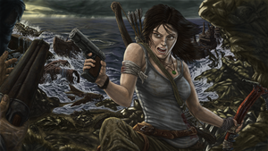 Lara Born to Survive Clean of dirt version by TheHylden