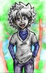 My Killua by Gagurum
