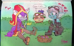 Yordles party hard by Hellenor