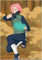 Sakura Haruno and her new power by byBlackRose