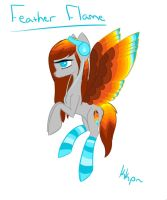 Feather Flame Drawing by kkp101