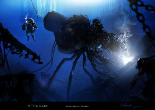 IN THE DEEP by cger101