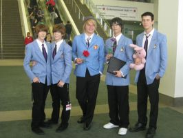 Anime Expo: Ouran High School Host Club by punkanimelover