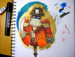 Pirate King by nedashi
