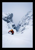 Ice climbing II by moinerus