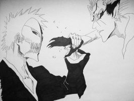 Ichigo Vs Grimmjow by hellen1994
