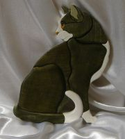 Intarsia Cat by scuff13