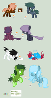 Filly Pegasus adoptables Preview by LPS100
