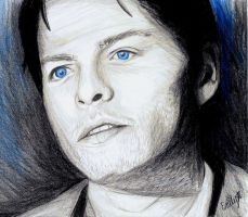 Castiel, I guess? by VIIIFireLordAxel