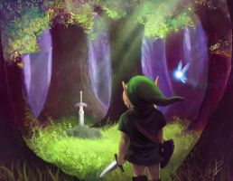 Legend of Zelda by steven-donegani