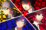 Persona 3, 4, 5: All-Out Attack! by Dragons-Roar