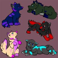 Cheap Adopt Set #1 ALL GONE by MaeMusicMelody