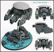 Tau DX12 Tank Drone UP by Proiteus