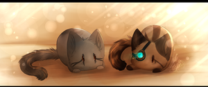 Blob Kitties by HGPainter