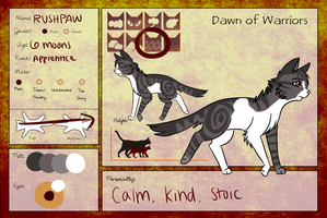 |Rushpaw||SeaClan Application| by oOBubbleBirdOo