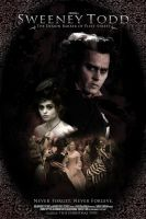 Sweeney Todd Movie Poster by 5exer