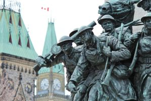 National War Memorial - Ottawa by PhilsPictures