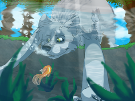 glub glub, fishy ,glub glub by Weird-Honey