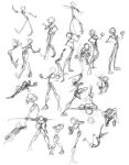 040407: Stick Figure Challenge by laurean