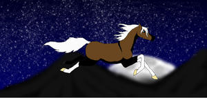 flying round the w o r l d.... by Horses-Echo