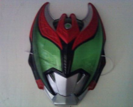 My Kamen Rider Mask from Japan by zombi12